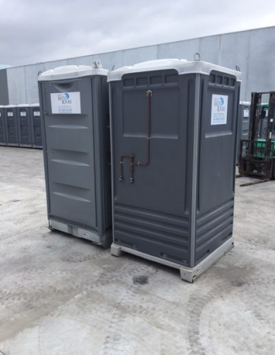Combo portable toilet and shower