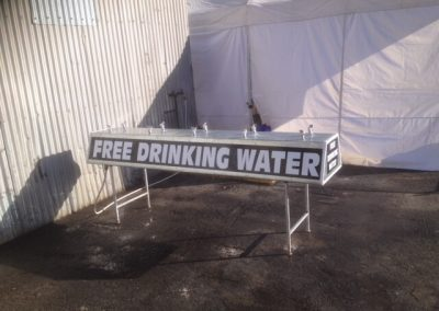 Portable drinking Stations for water